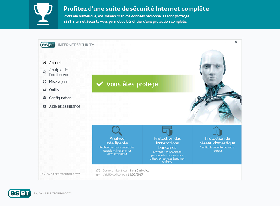 ESET Internet Security en telechargement gratuit