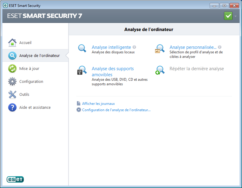 ESET Smart Security en telechargement gratuit